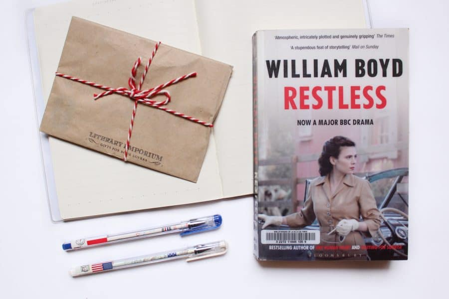Book Review: Restless By William Boyd