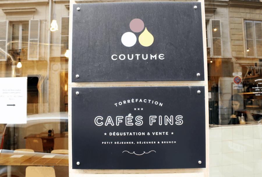 Brunch In Paris: Best Hot Chocolate at Coutume Café