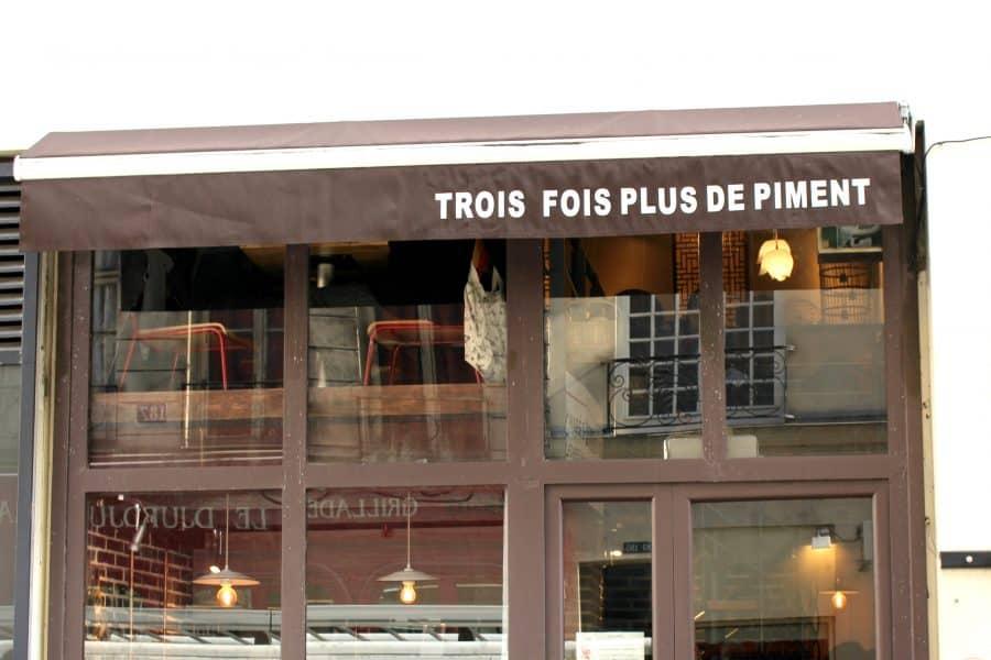 BEST NOODLES IN PARIS: TROIS FOIS PLUS DE PIMENT