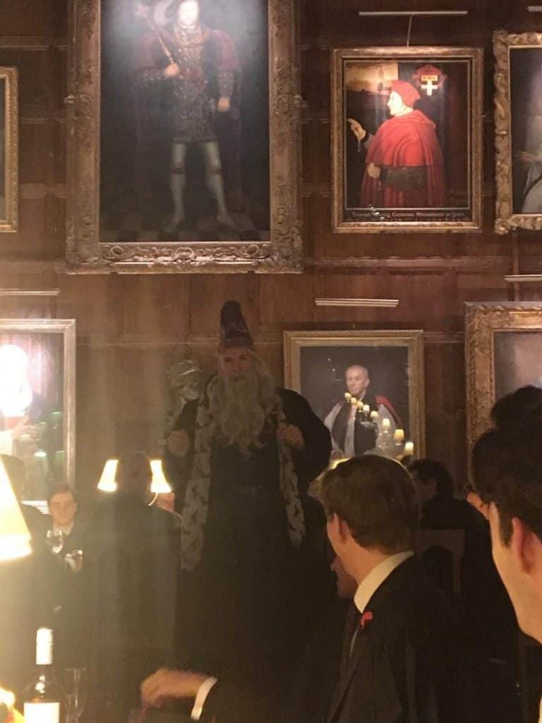 Halloween Feast in Great Hall of Hogwarts aka Christ Church