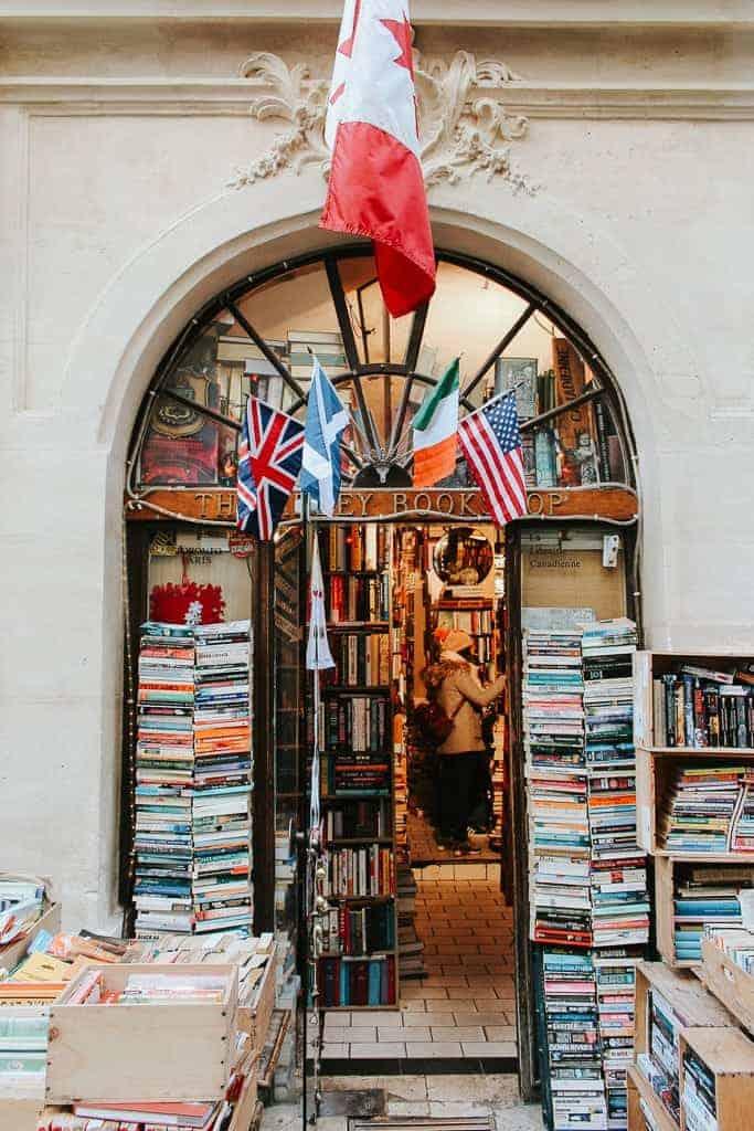 Five English Language Bookshops in Paris You Must Visit