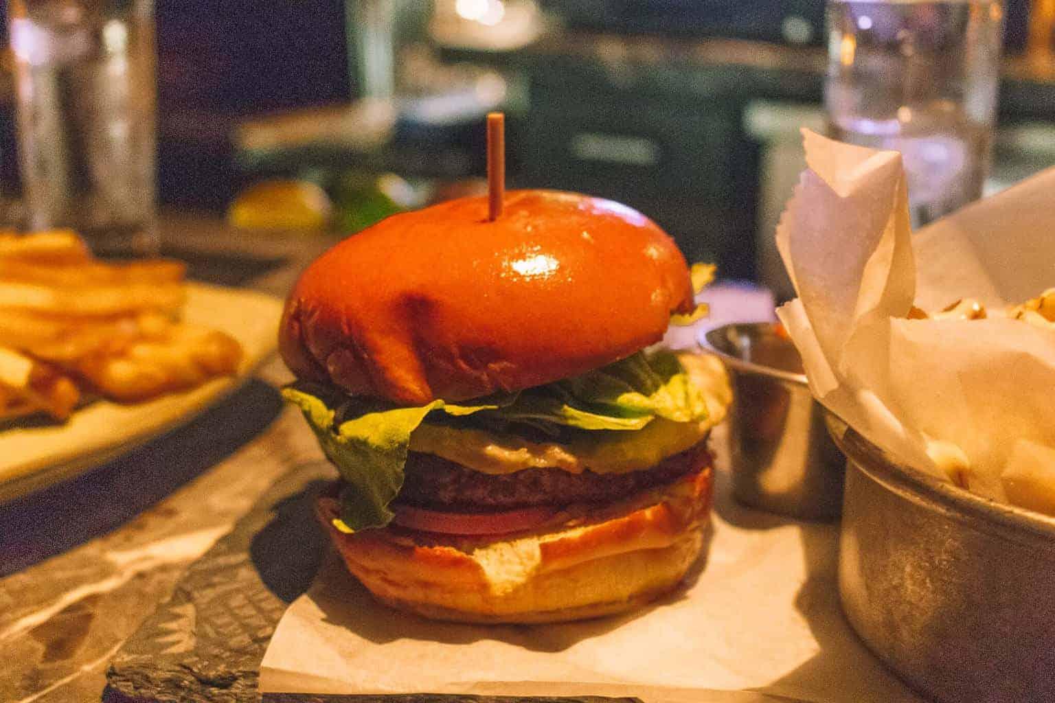 Literary Cocktails & Gourmet Burgers at Library Bar LA