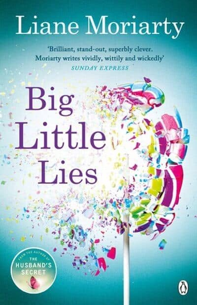 Big Little Lies Book Cover - Liane Moriarty Books